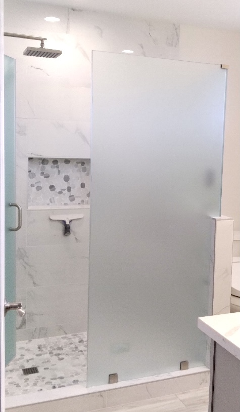Glass Guru Frosted Shower