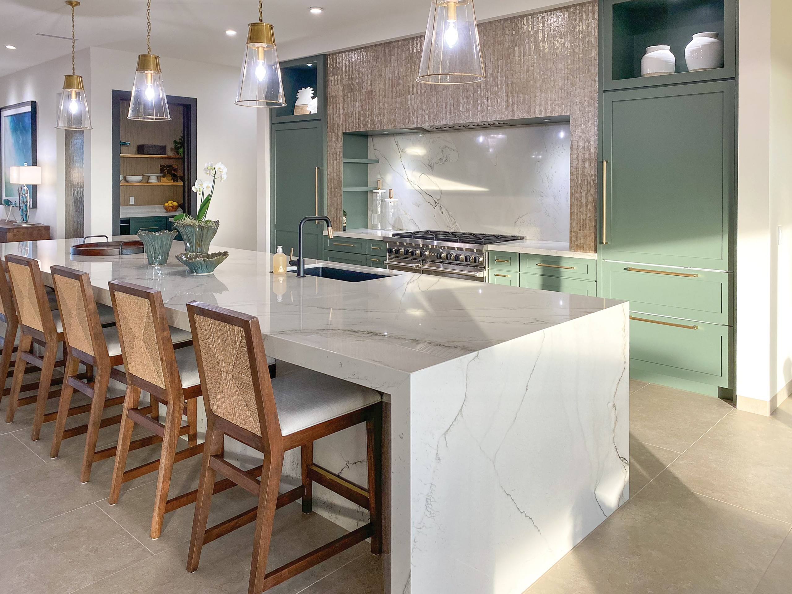 kitchen designed by HPM Kitchen & Bath Desig
