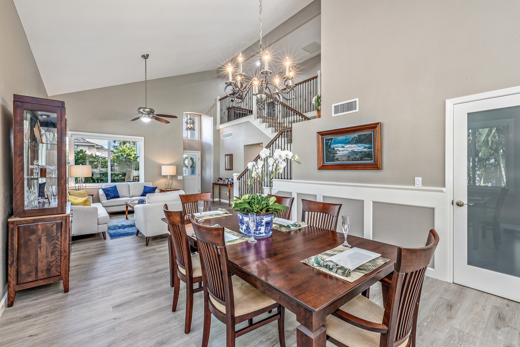 accessible, open kitchen