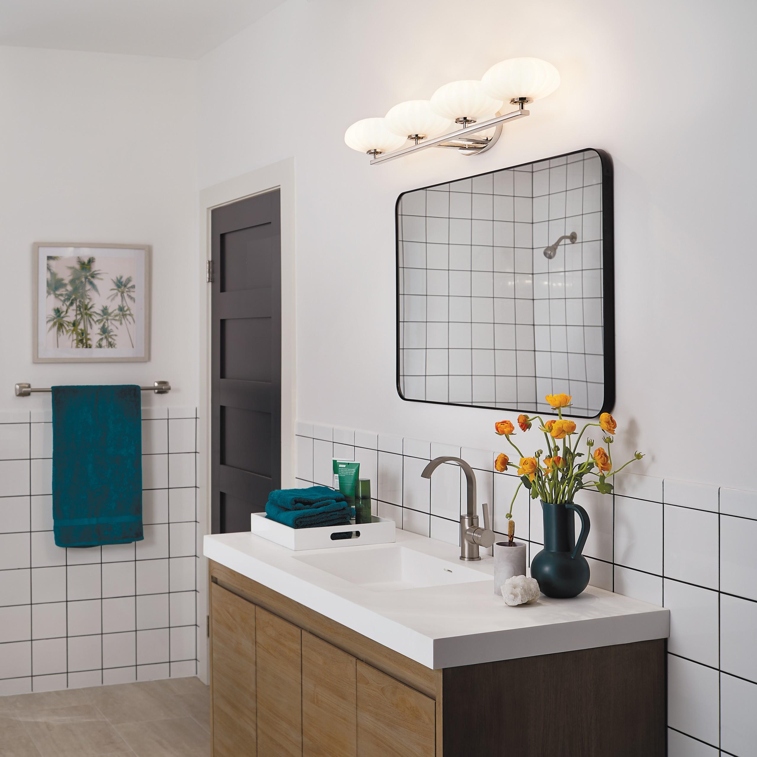 bright, tranquil bathroom